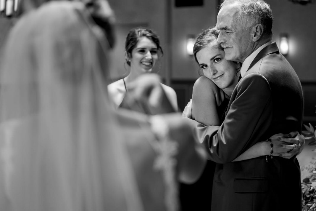 Emotion and candid wedding photos