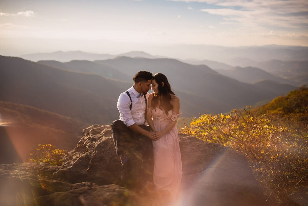 mountain engagement pictures