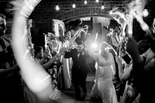 Wedding photos taken at The Old Cigar Warehouse, Greenville SC