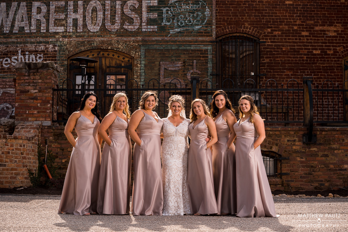 The Old cigar Warehouse Wedding Photos