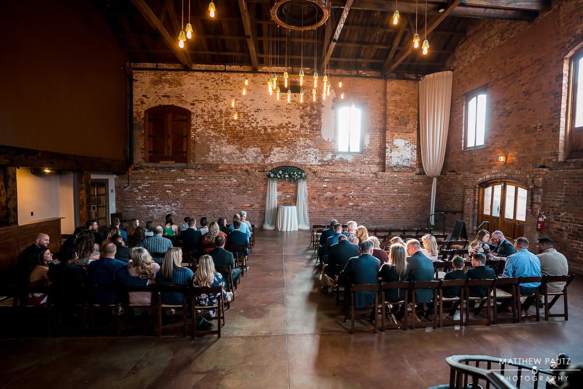 Wedding at The Old cigar Warehouse