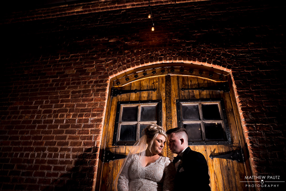 Wedding photos at The Old cigar Warehouse