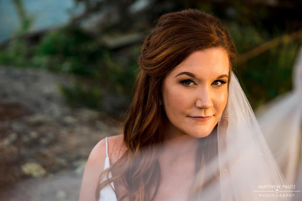 modern bridal portraits