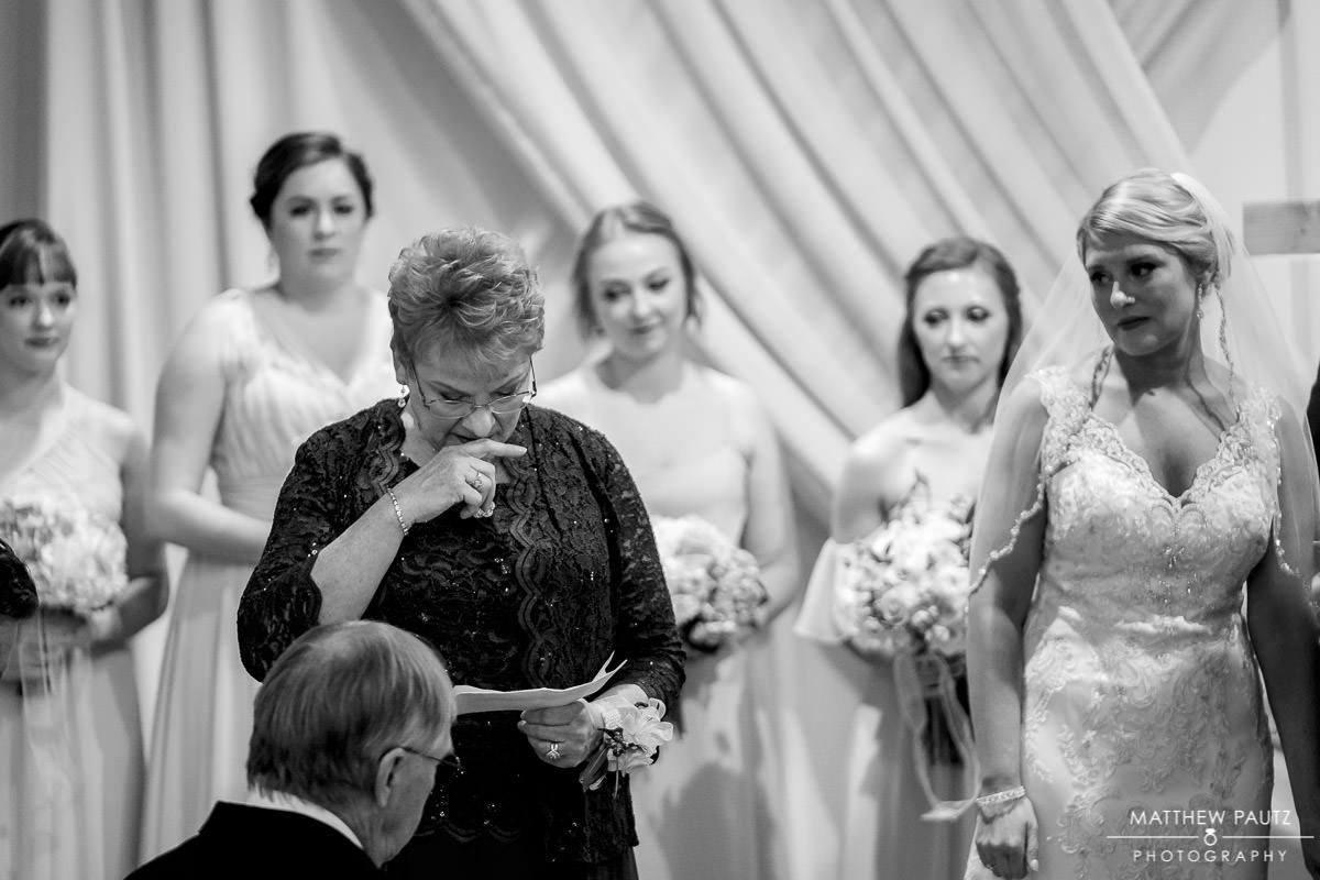 Huguenot Loft Wedding ceremony photos
