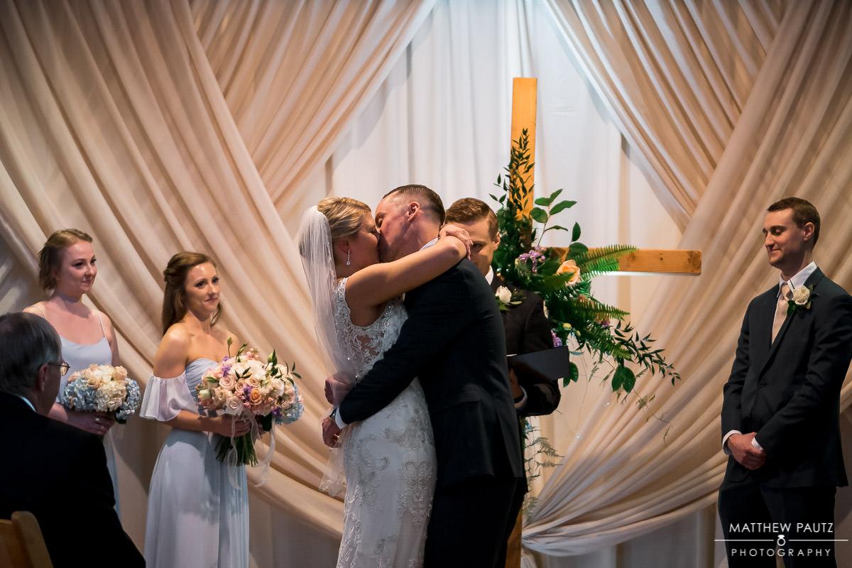 Huguenot Loft Wedding ceremony
