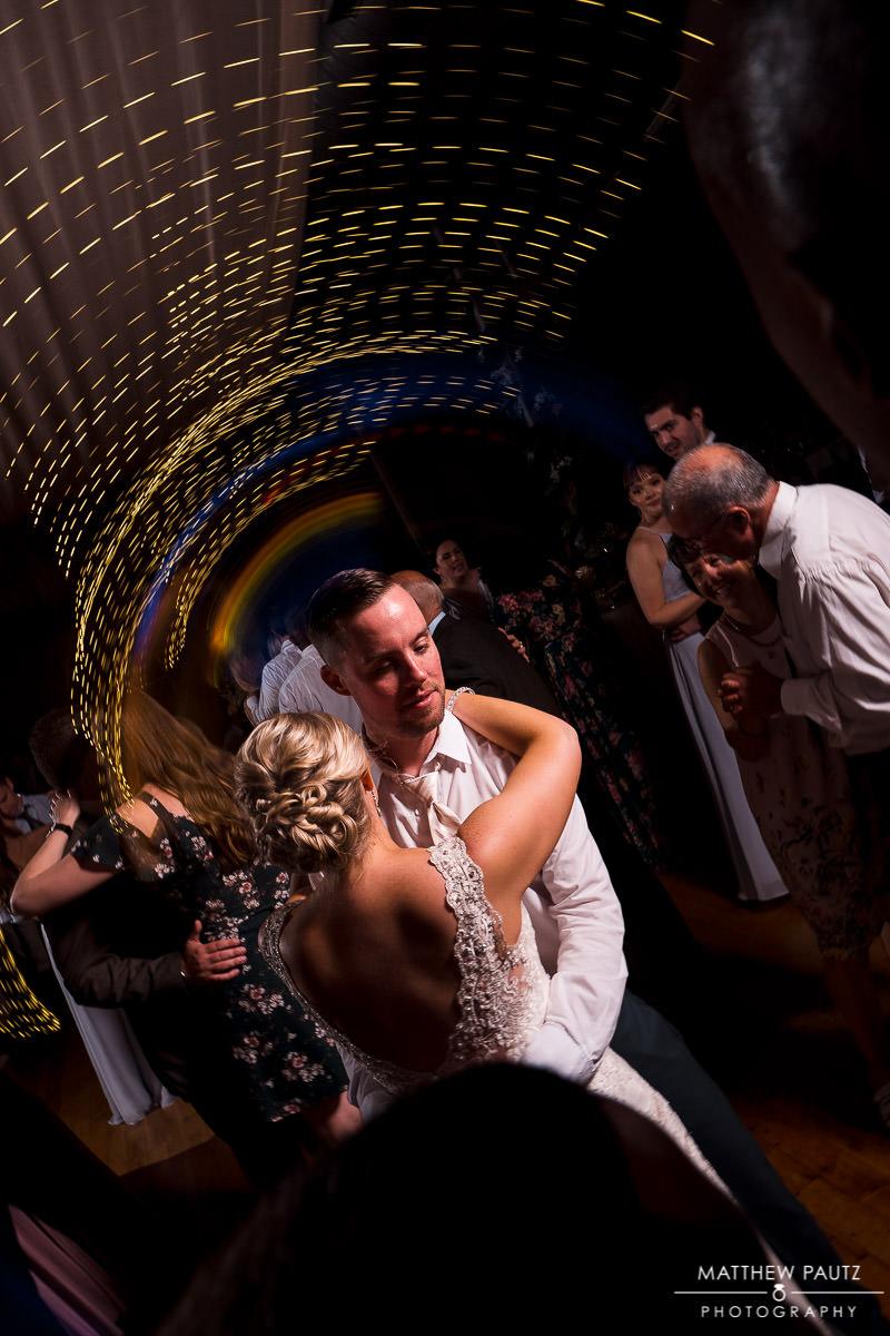 wedding reception at Huguenot Loft greenville