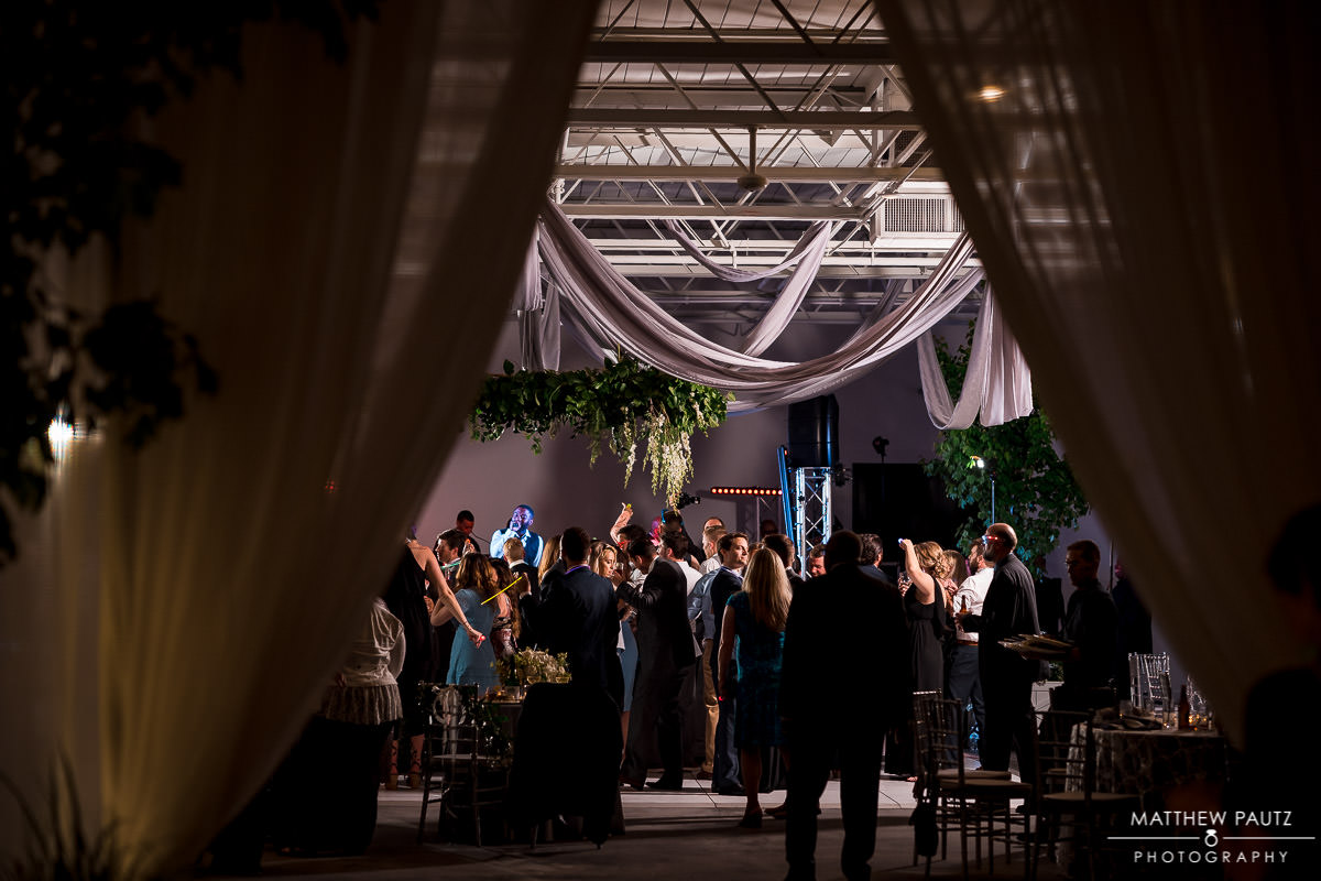 guests dancing at Westfield wedding reception